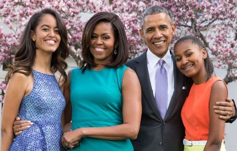 Barak Obama's brags about his girls